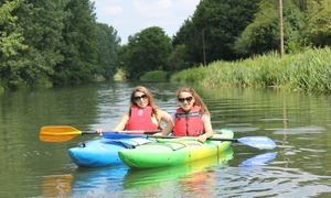 Whoosh Explore Canoe Club: Half-Day Canoeing on the River Stort With Whoosh Explore Canoe Club