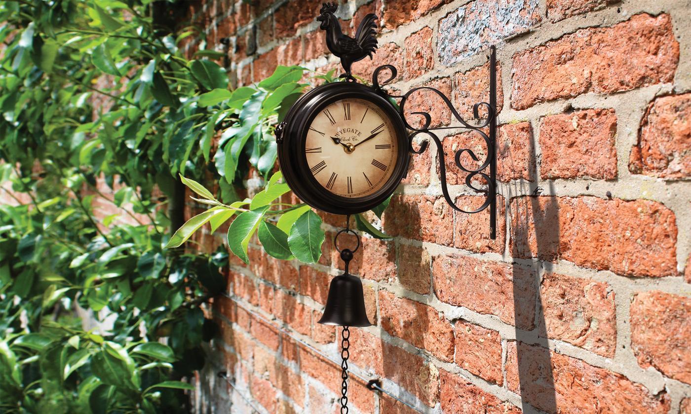 Wall Mounted Garden Clock in Choice of Design