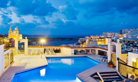 ✈ Malta: 2, 3, 5 or 7 Nights at 4* Solana Hotel or 4* Pergola Hotel with Flights*