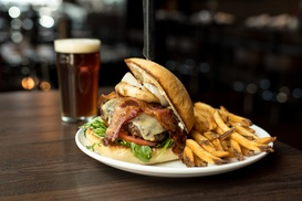 Up to 50% Off Food & Drinks at Thirsty Lion Gastropub & Grill - Cherry Creek, plus 6.0% Cash Back from Ebates.