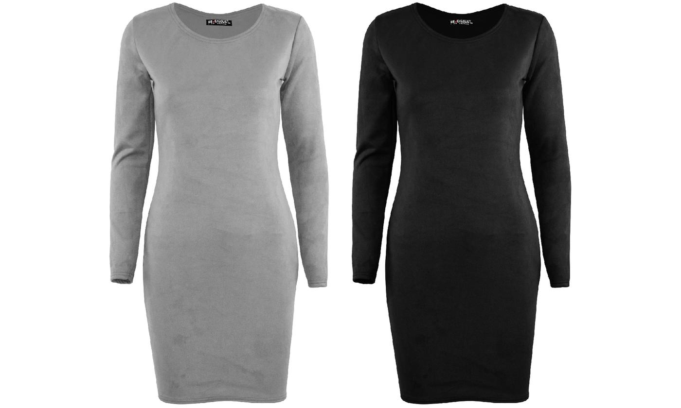 Oops Women's Casual Fit Bodycon Dress