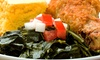 Celebrity Restaurant & Lounge - West Palm Beach: Soul Food and Southern Cuisine at Celebrity Restaurant & Lounge (Up to 45% Off). Two Options Available.