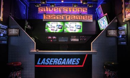 Twee spellen lasergame voor 1 10 personen bij Silverstone Lasergames vlakbij Amsterdam