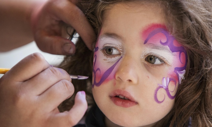 Party Clowns And More - Philadelphia: Two Hours of Face-Painting Services from Party Clowns and More (45% Off)