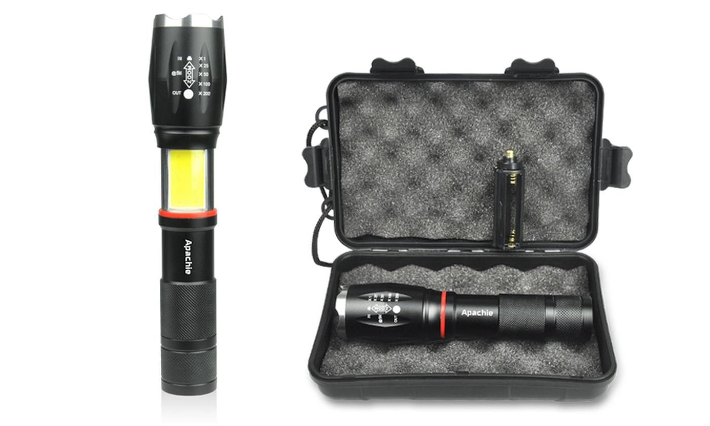 Two-Pack of TPX LED Military-Style Torch