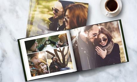 1, 2 o 3 fotolibros personalizables en tapa dura en formato y tamaño a elegir con Printerpix (ES)