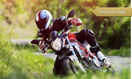 Wertgutschein anrechenbar auf eine Motorrad-Führerschein-Ausbildung (Klasse A) in der Fahrschule Triepel