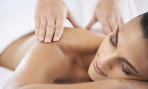 SerenityWorks: 70-Minute Massage with Hot Stones and Facial or Three 60-Minute Massages at SerenityWorks (Up to 58% Off)