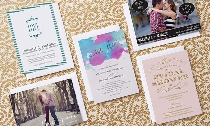 customer reviews - Groupon Wedding Invitations