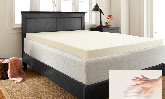 Up To 65 Off On Sleepwise 3 Memory Foam Topper Groupon Goods