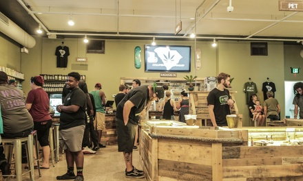 CBD Products at Charlotte CBD (Up to 50% Off). Two Options Available.