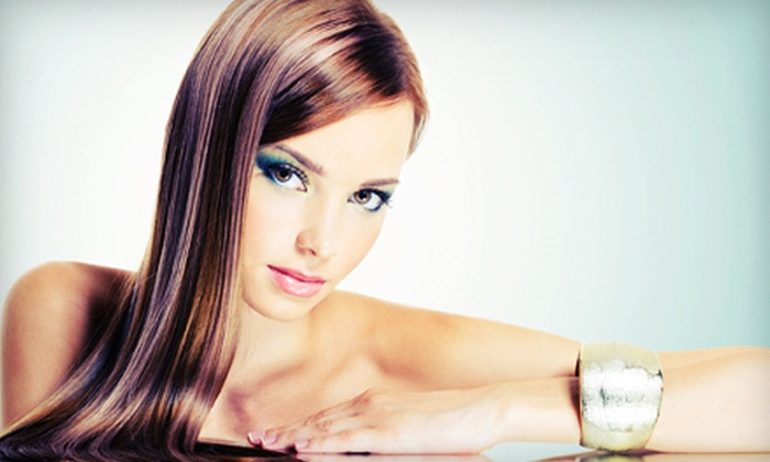 Universal Beauty Institute - Southeastern Sacramento: Virgin Hair-Relaxer Treatment or Japanese Straightening Treatment at Universal Beauty Institute (Up to 67% Off)