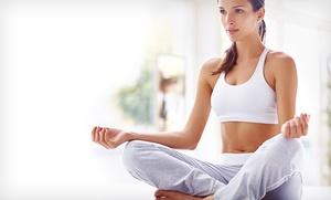 Mes de clases de yoga para una o dos personas desde 19,90 €