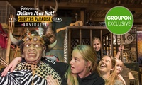 Ripleys Believe It or Not! - Child ($8), Adult ($15) or Family Ticket ($45) at Surfers Paradise (Up to $79.60 Value)
