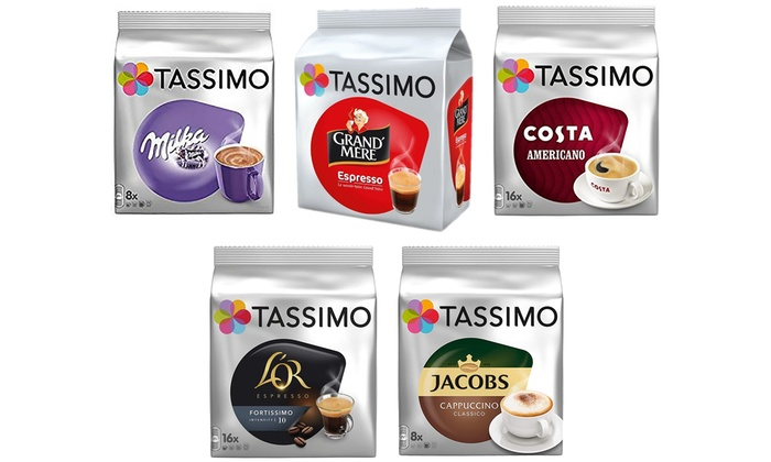 Up To 15 Off Five Packs Of 80 Tassimo T Discs Groupon
