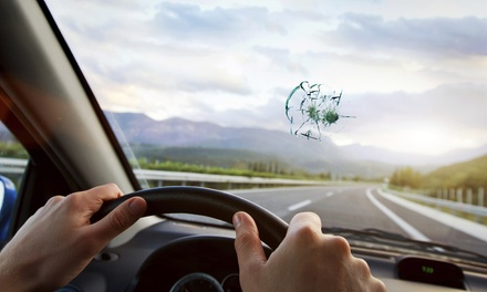 $100 Toward Windshield Replacement or Insurance Deductible, or Three Chip Repairs at Cascade Auto Glass (Up to 81% Off)