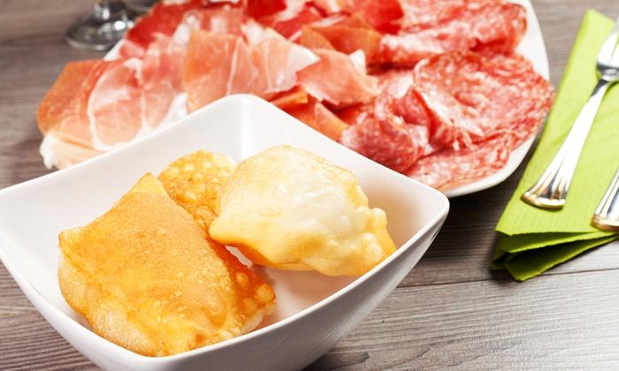 TORTUGA'S - Nuvolento: Menu gnocco fritto all you can eat con salumi e formaggi, antipasto, dolce e vino da Tortuga's (sconto fino a 63%)
