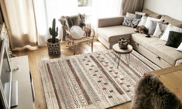 tapis inspiration 39 39 berb re 39 39 groupon shopping. Black Bedroom Furniture Sets. Home Design Ideas