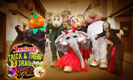 Halloween at Gulliver's Theme Park, Warrington with Optional Fireworks Display, 22 October – 1 November