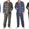 Men's Fleece Pajama Set