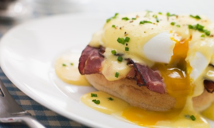 All Day Breakfast or Lunch with Drinks $10, 2 $19 or 4 People $36 at Café Pane e Vino Up To $72 Value