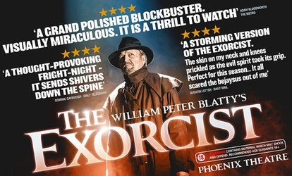 image for The Exorcist, 30 November–29 December at Phoenix Theatre, London (Up to 53% Off)