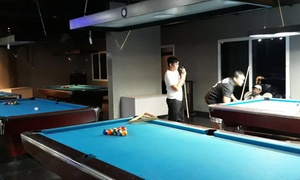 Shift Gaming and Billiards Cafe: Up to AED 200 Toward Gaming, Billiards and Karaoke Options at Shift Gaming BIlliards Cafe (Up to 51% Off)