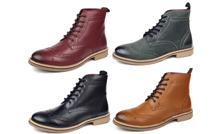 Wellington Men's Leather Boots