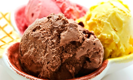 $10 for Four Groupons, Each Good for $5 Worth of Ice Cream and Treats at Alka Pure Water ($20 Value)