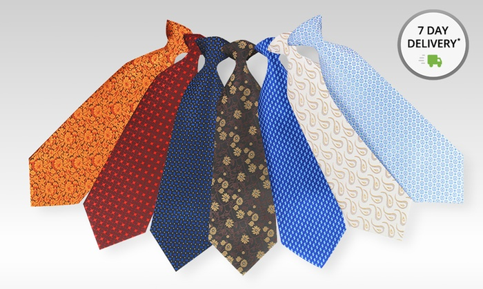 5-Pack of Assorted Paolo Davide Ties: 5-Pack of Assorted Paolo Davide Ties. Free Shipping and Returns.