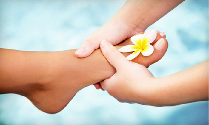Blossom Nail Salon - Montclair: $22 for Callus-Removal Pedicure at Blossom Nail ($45 Value)