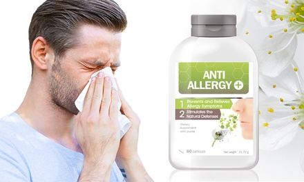 One or TwoMonth AntiAllergy Capsules Supply