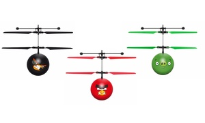 Angry Birds Licensed Hand Sensor IR UFO Ball Helicopter