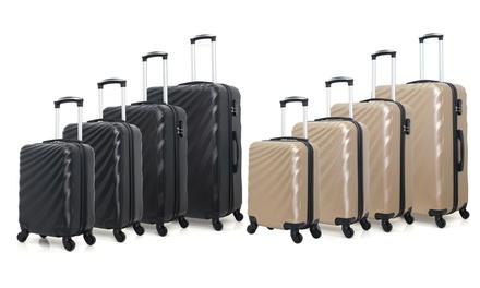 Set di 4 valigie White Label