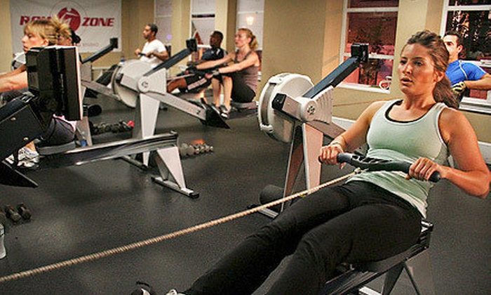 RowZone - Multiple Locations: 5 or 10 Boot-Camp Classes at RowZone (Up to 72% Off)