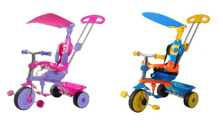 $59 for a Kids Trike Star Galaxy ThreeinOne Tricycle Don't Pay $179.99