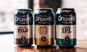 Up to 49% Off at Brickway Brewery & Distillery at Brickway Brewery & Distillery, plus 6.0% Cash Back from Ebates.