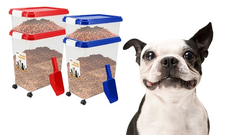Prime Paws ThreePiece Pet Food Storage Set