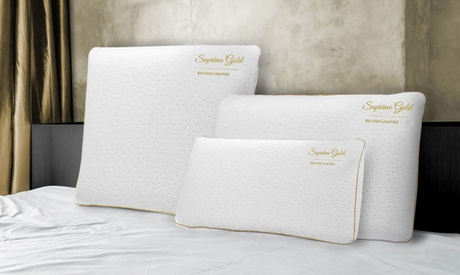 Hasta 4 almohadas memory foam Sampur Gold collector