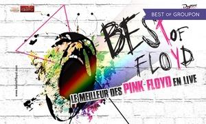 """Cisame Production: 1 place avec catégorie au choix pour """"Best Of Floyd"""" dès 22 € dans une des 11 villes au choix"""