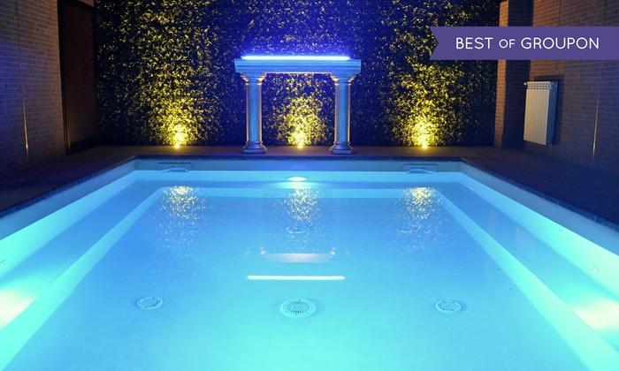Centro Benessere Spa - Roma: Spa serale illimitata con massaggio, aperitivo e cena per 2 persone al Urban Spa Very Well 1018 (sconto fino a 58%)