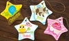 Dinkleboo: Personalized Porcelain Ornaments from Dinkleboo (Up to 71% Off)