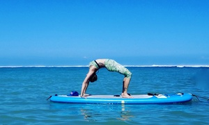 Yoga Floats, LLC: One or Five Stand-Up Paddle Board Yoga Classes at Yoga Floats, LLC (Up to 63% Off)