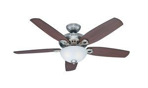 """Hunter Fan 54"""" Contemporary Fan with Remote (Certified Refurbished)"""