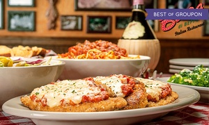 50% Off Family Style Italian Cuisine at Buca di Beppo  at Buca di Beppo, plus 9.0% Cash Back from Ebates.