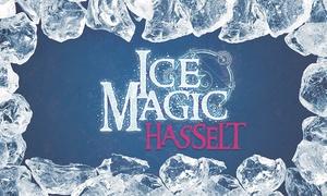 Ice Magic Hasselt: Tickets à 5,99 € pour le Festival de Sculptures de glace à partir du 21 novembre à Hasselt !