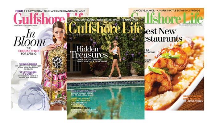 """Open Sky Media, Inc: One- or Two-Year Subscription to """"Gulfshore Life"""" (Up to 53% Off)"""