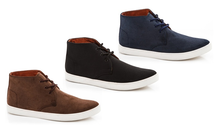 Franco Vanucci Men's Chukka Sneakers