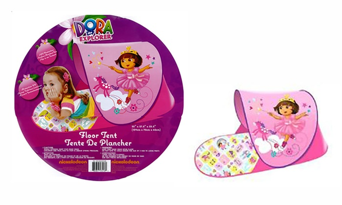 Groupon Goods: Dora the Explorer Foldable Floor Tent (Shipping Included)