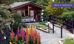 Giardino Botanico di Oropa: Ingresso oasi WWF per 2 adulti o famiglia dal 1 maggio al 30 settembre al Giardino Botanico di Oropa